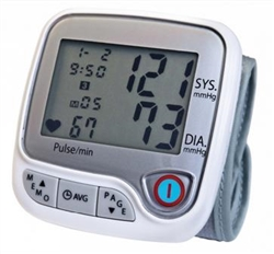 Lumiscope Advanced Wrist Blood Pressure Monitor
