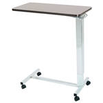Novum Medical Acute Care Overbed Table - Automatic - No Vanity - 15 x 30 Top