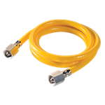 Gas Input Hose for paraPac, ventiPAC and babyPAC ventilators