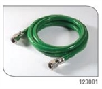 Gas Input Hose Green 10 Foot 1/EA