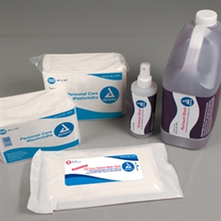 EZ Care Patient Bath Packs - 8/24/Cs