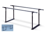 Hausmann 1319 Folding Parallel Bars (7' Length)