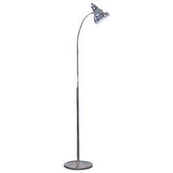 "16"" Flexible Goose Neck Exam Lamp (with flared cone shade) - Adjust Height 48-72"" & Light Direction 360°"