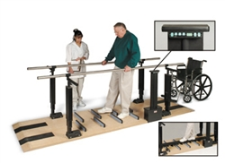 Hausmann Patented Mobility Platform with Electric Height Bars