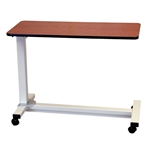 "Novum Medical Bariatric Overbed Table, 18"" x 40"" Oversized Top"