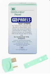 PTS Diagnostics CHOL+GLU Panel Test Strips