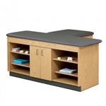 Clinton 3-Station Training Exam Taping Table