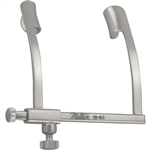 "Miltex Cook Eye Speculum - 1"" Spread - 9mm Blades - With Locking Screw - Infant Size"