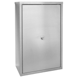 Omnimed Double Door Narcotic Cabinet with 4 Shelves