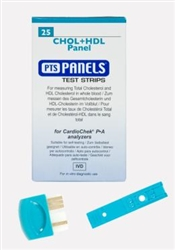 PTS Diagnostics CHOL+HDL Panel Test Strips