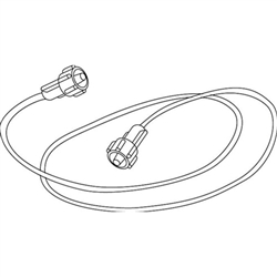 Sampling Line with Male Luer Lock Connector, 2.0 m (Box of 25)