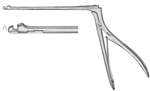 "Miltex Hajek-Kofler Sphenoid Punch Forceps - Delicate 2mm x 3mm Jaws -Up & Thru-cutting - Angled 85° - 8½"" Shaft"