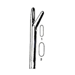 "Miltex Takahashi Nasal Forceps - 4-1/2"" Shaft - 10mm x 2.5mm Jaws"