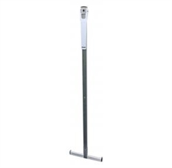 Health O Meter Wall-Mounted Telescopic Metal Height Rod