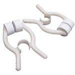 "Disposable Nose Clips for Vitalograph Spirometers with white ""marshmallow"" pads. Comes in a box of 200."