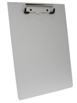 Omnimed Aluminum Clipboard with Low Profile Clip for School, Office & Stationery