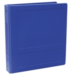 "Omnimed 1"" Open Hopsital Grade Tri-Poly Molded Ring Binders (3 Ring) - Side Opening"
