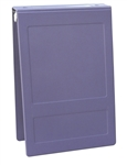 "Omnimed 1"" Open Hopsital Grade Tri-Poly Molded Ring Binders (3 Ring) - Top Opening"