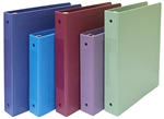 "Omnimed 2"" Hospital Grade Tri-Poly Molded Ring Binders (3 Ring) - Side Open"