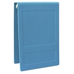 "Omnimed 2.5"" Top Open Hopsital Grade Tri-Poly Molded Ring Binders (3 Ring)"