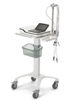 GE MAC 2000 EKG Trolley with Basket