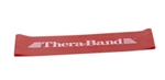"Resistance Band Loop, Red/Thin, 8"" (60 Per Case)"