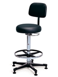 Hausmann Pneumatic Lab Stool
