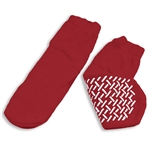 Slipper Socks; Small RED 48/cs
