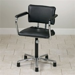 Clinton Low-Size Adjustable Height Whirlpool Chair (Without Casters)