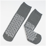 Double Sided Slipper Socks, XXLarge-48/Cs