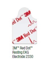 3M™ Red Dot™ Resting Monitoring Electrodes, case of 4,000