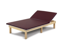Clinton Upholstered Mat Platform with Adjustable Backrest