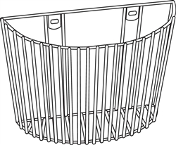 Large Inflation System Wall Basket