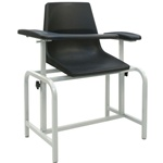 Winco Blood Drawing Chair - Plastic Seat