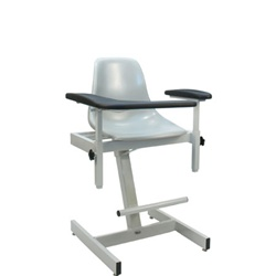 Winco Designer Blood Drawing Chair - Fiberglass Seat
