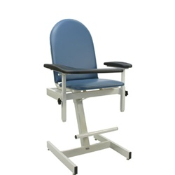 Winco Designer Blood Drawing Chair - Padded Vinyl