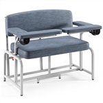 Winco XXL Bariatric Extra-Wide Blood Drawing Chair - Padded