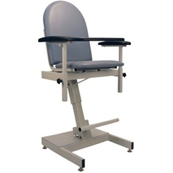Winco Power Designer Blood Drawing Chair - Padded Vinyl