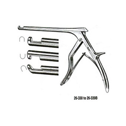 "Miltex Spurling-Kerrison Cervical Rongeur - 6"" Shaft - 40 Degree Forward Angle, 5mm"