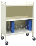 OmniMed Economy Closed Style Chart Rack (with Locking Option)