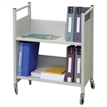 Omnimed Library/Cubbie Rolling Book Cart