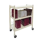 Omnimed Wide Open Style Chart Rack (Wired Dividers) - Capacity 12