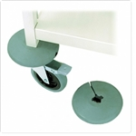 Omnimed Rubber Bumpers for Chart Racks (4 Pack)