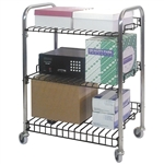 Omnimed Wire Shelf Utility Cart
