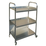 Omnimed Mobile Stainless Steel Supply Cart