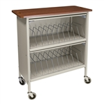 Omnimed Artisan Style Cabinet Chart Rack - 20 Capacity