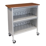 Omnimed Artisan Style Cabinet Chart Rack - 16 Capacity