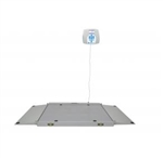 Health O Meter Digital Wheelchair Dual Ramp Scale with Extra Large Platform