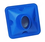 Blue Elliptical BVF Bacterial Viral Filters for Vitalograph, MIR and CareFusion Spirometers. Comes in a box of 50.