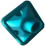 Vitalograph Elliptical Teal Green BVF Bacterial Viral Filters for KoKo (Box of 50)